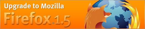 [upgrade to Mozilla Firefox 1.5]