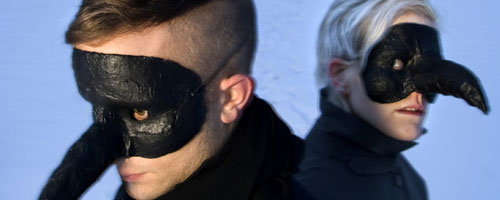 [The Knife's Olof Dreijer and Karin Dreijer Andersson]