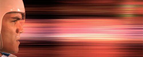 [still shot from Speed Racer trailer]