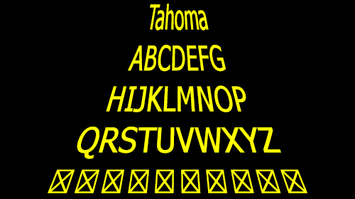 [Tahoma in a galaxy far, far away]
