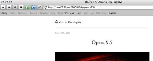 [Opera's Navigation Bar]