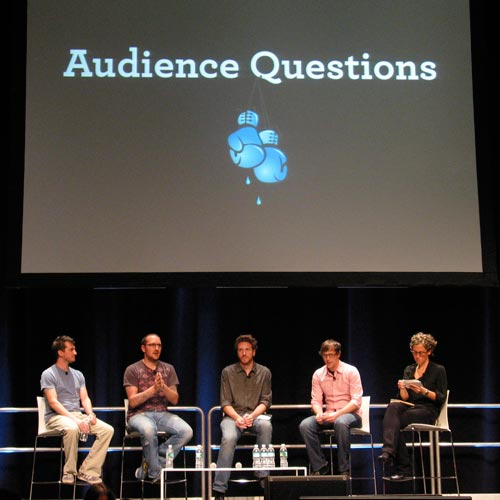 [panel discussion at FOWD NY 2008]