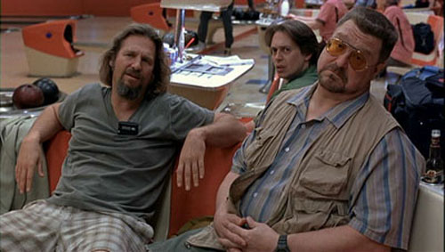[The Dude, Donny and Walter]