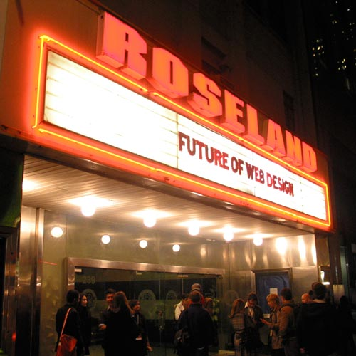 [Roseland Ballroom, NYC]