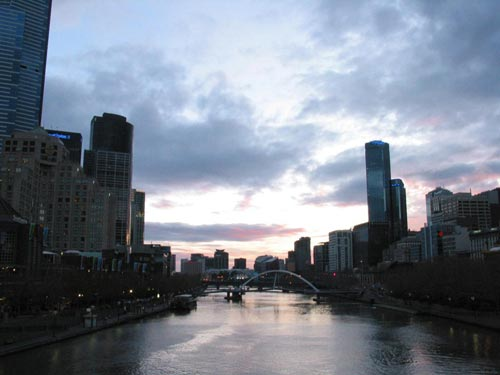 [the Yarra River, originally known as Birrarung]
