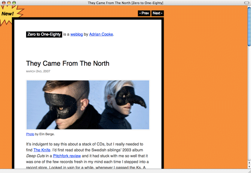 """[screenshot of """"They Came From the North"""" post]"""