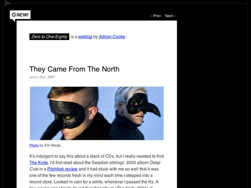 [latest version of my weblog theme]