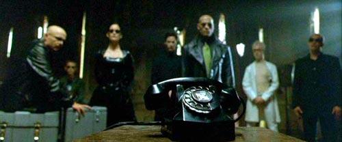 [Morpheus, et al., waiting for the phone]