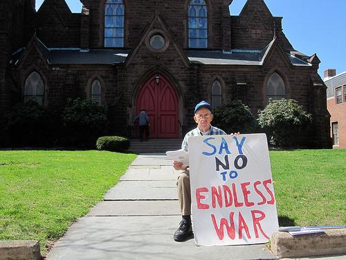 [Say no to endless war]