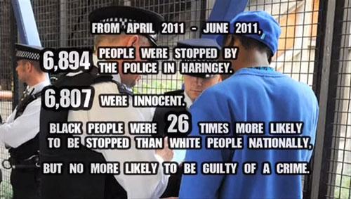 [Haringey arrest stats]