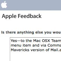 [Apple Feedback form]